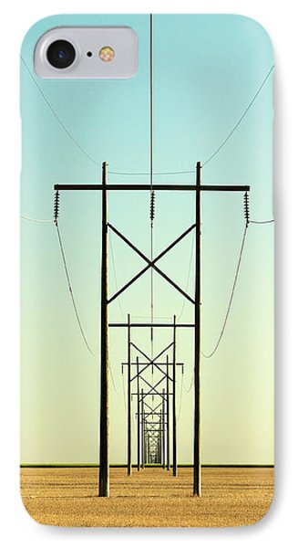 Infinite Conductivity IPhone Case by Todd Klassy