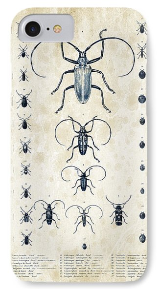 Insects - 1832 - 08 IPhone 7 Case by Aged Pixel