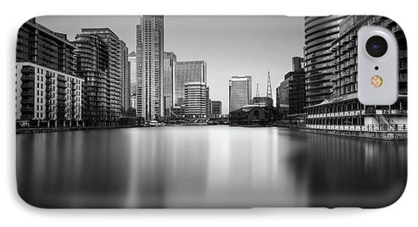 Inside Canary Wharf IPhone Case by Ivo Kerssemakers