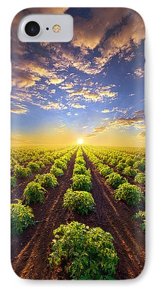 Into The Future IPhone 7 Case by Phil Koch