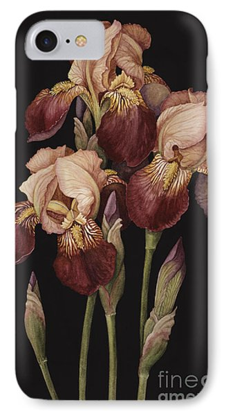 Irises IPhone 7 Case by Jenny Barron