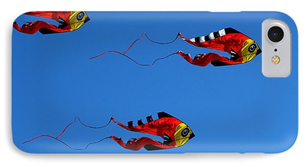 It's A Kite Kind Of Day Phone Case by Clayton Bruster