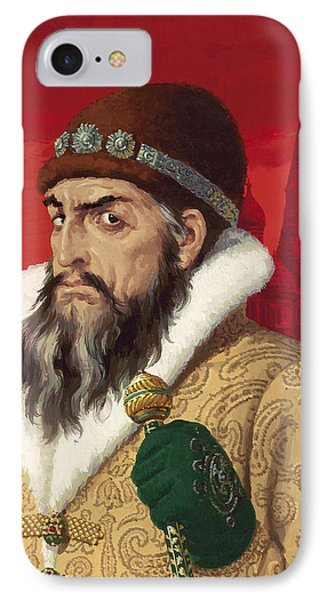 Ivan The Terrible IPhone 7 Case by English School