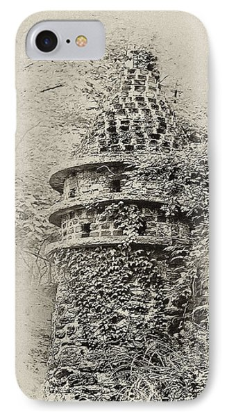 Ivy Covered Castle In The Woods Phone Case by Bill Cannon