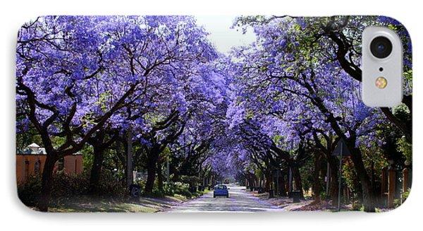 Jacarandas In Pretoria IPhone Case by Lene Pieters