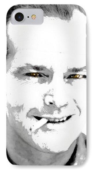 Jack B N W  IPhone Case by Enki Art