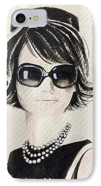 Jackie  IPhone Case by Barbara Chase