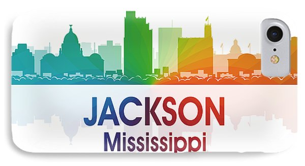 Jackson Ms Phone Case by Angelina Vick