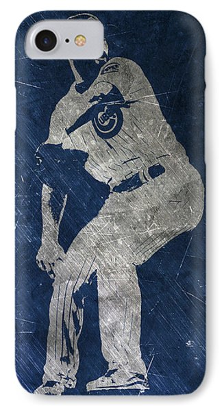 Jake Arrieta Chicago Cubs Art IPhone Case by Joe Hamilton
