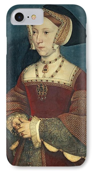 Jane Seymour Phone Case by Holbein