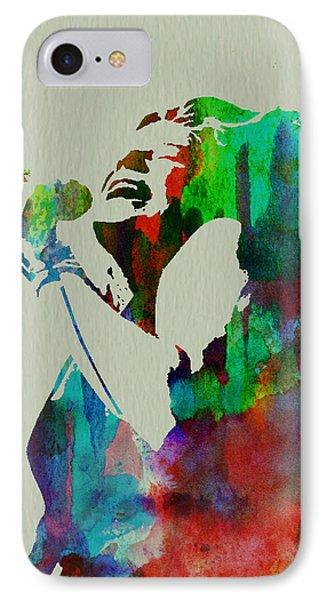 Janis Joplin Phone Case by Naxart Studio