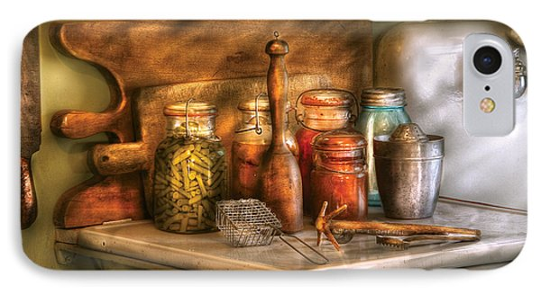 Jars - The Process Of Canning Phone Case by Mike Savad