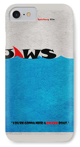 Jaws IPhone Case by Ayse Deniz