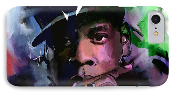 Jay Z IPhone 7 Case by Richard Day