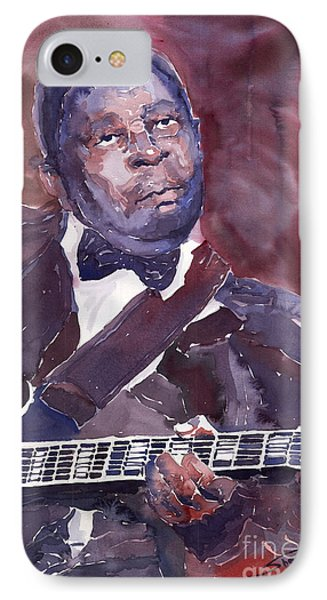Jazz B B King Phone Case by Yuriy  Shevchuk