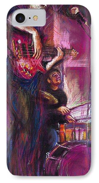 Jazz Purple Duet IPhone Case by Yuriy  Shevchuk