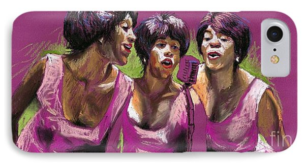 Jazz Trio IPhone Case by Yuriy  Shevchuk