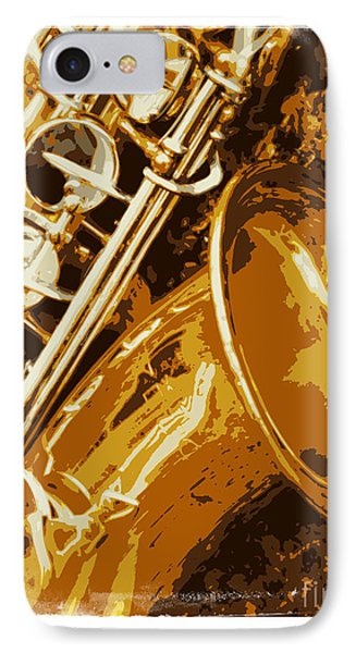 Jazzy IPhone Case by Carol Groenen