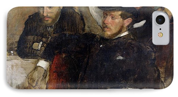 Jeantaud Linet And Laine IPhone Case by Edgar Degas