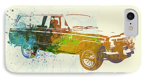 Jeep Wagoneer IPhone Case by Naxart Studio