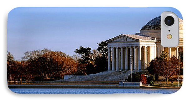 Jefferson Memorial Sunset IPhone 7 Case by Olivier Le Queinec