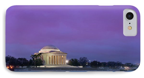Jefferson Monument IPhone Case by Sebastian Musial