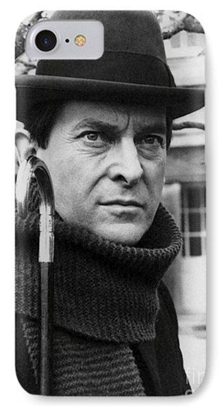 Jeremy Brett (1935-1995) Phone Case by Granger