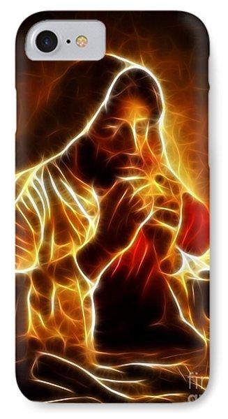 Jesus Christ Last Supper Phone Case by Pamela Johnson