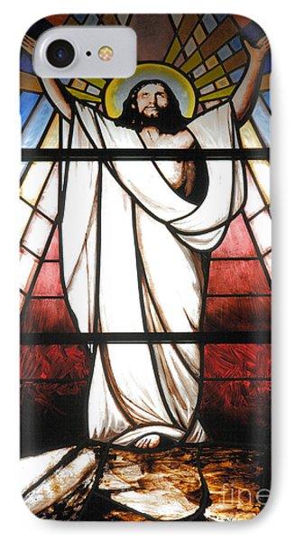 Jesus Is Our Savior Phone Case by Gaspar Avila