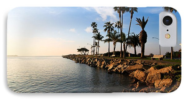Jetty On Balboa Peninsula Newport Beach California IPhone Case by Paul Velgos