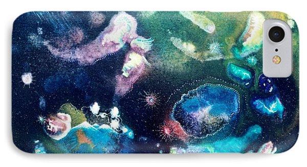 Jeweled Pegasus Phone Case by Lee Pantas