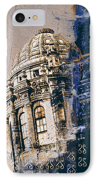 Jewelers Building 210 3 IPhone Case by Mawra Tahreem