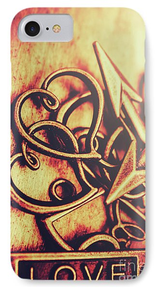 Jewelry Love Background IPhone Case by Jorgo Photography - Wall Art Gallery