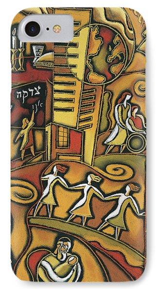 Jewish Community IPhone Case by Leon Zernitsky