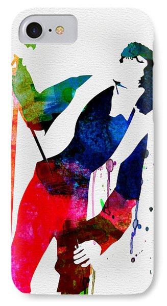Jim Watercolor IPhone Case by Naxart Studio