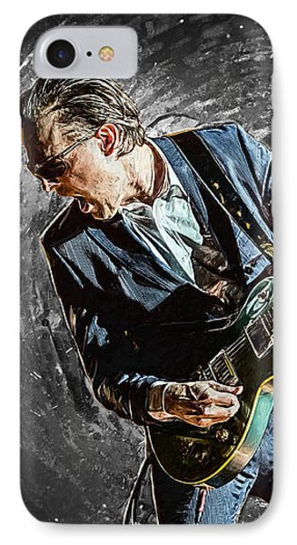 Joe Bonamassa IPhone 7 Case by Taylan Soyturk