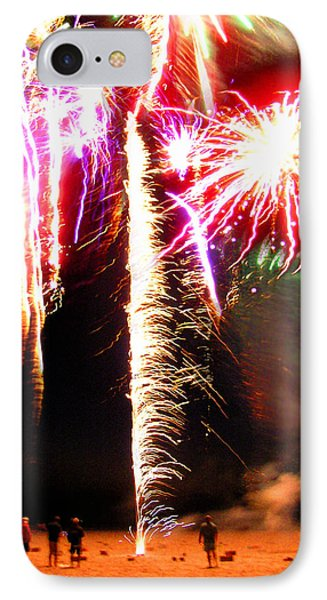 Joe's Fireworks Party 1 Phone Case by Charles Harden