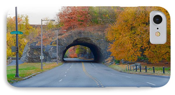 John B Kelly Drive In Autumn IPhone Case by Bill Cannon