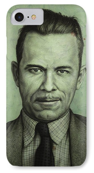 John Dillinger IPhone Case by James W Johnson