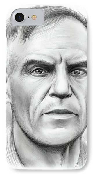 John Heisman IPhone Case by Greg Joens
