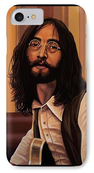 John Lennon Imagine IPhone Case by Paul Meijering