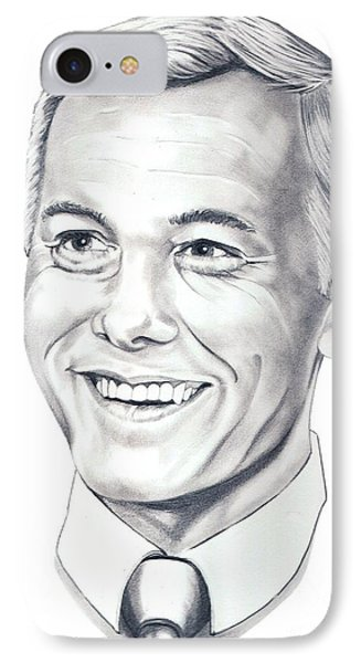 Johnny Carson IPhone Case by Murphy Elliott