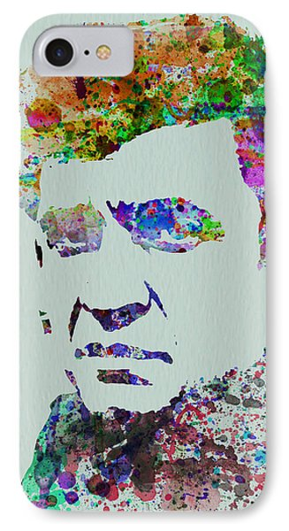 Johnny Cash Watercolor 2 IPhone 7 Case by Naxart Studio