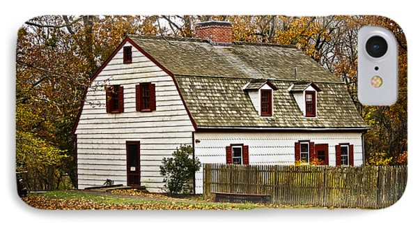 Johnson Ferry House IPhone Case by Colleen Kammerer