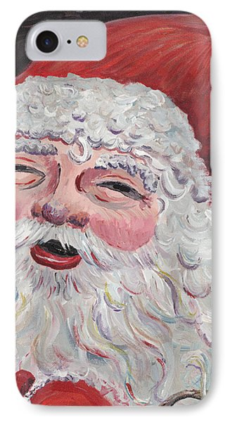 Jolly Santa Phone Case by Nadine Rippelmeyer