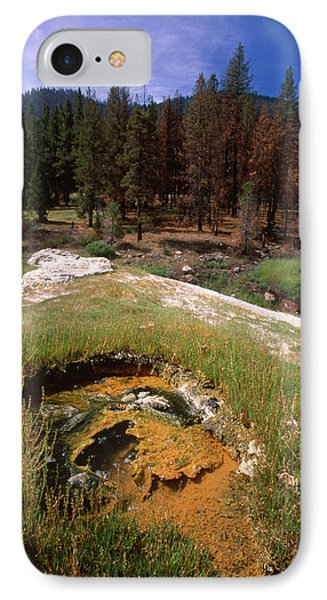 Jordan Hot Springs IPhone Case by Soli Deo Gloria Wilderness And Wildlife Photography