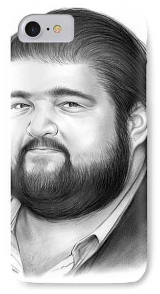 Jorge Garcia IPhone Case by Greg Joens