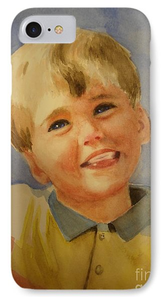 Joshua's Brother Phone Case by Marilyn Jacobson
