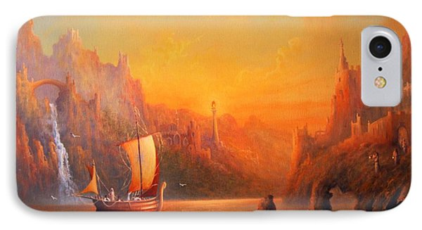Journey To The Undying Lands IPhone Case by Joe  Gilronan