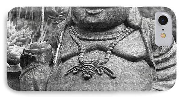 Joyful Lord Buddha Phone Case by Karon Melillo DeVega